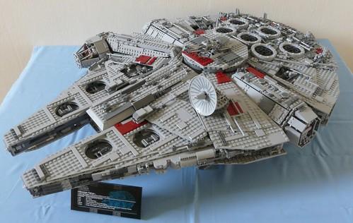 lego ucs millennium falcon instructions