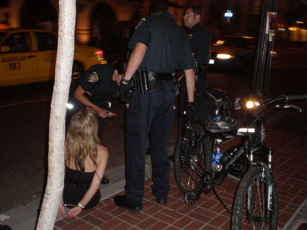 Drunk Girl Arrested 1 The Cop Was Shouting At Her Quot If