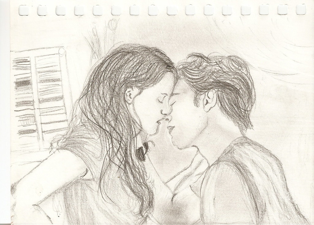 Edward Cullen And Bella Swan Drawing Drawing Of Edward