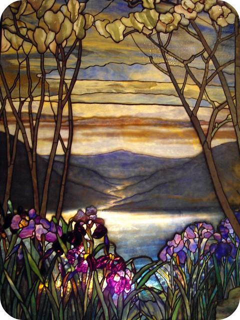 Magnolias And Irises Louis Comfort Tiffany Nomees Flickr