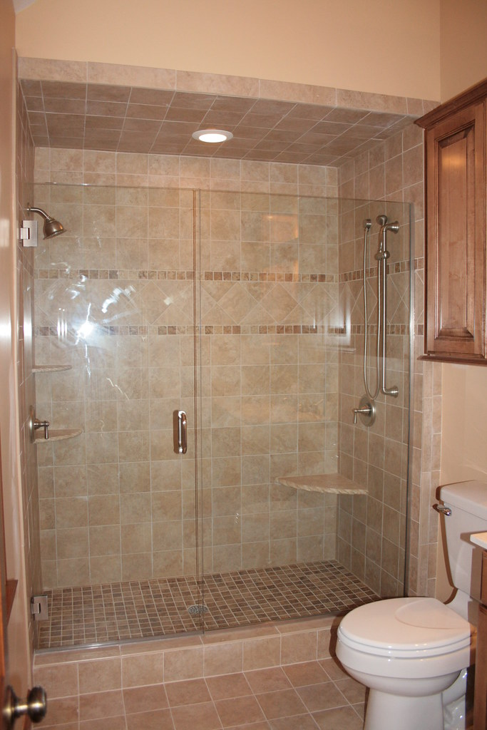 Master bathroom remodel after bathroom remodel tile - Small bathroom remodel with tub ...
