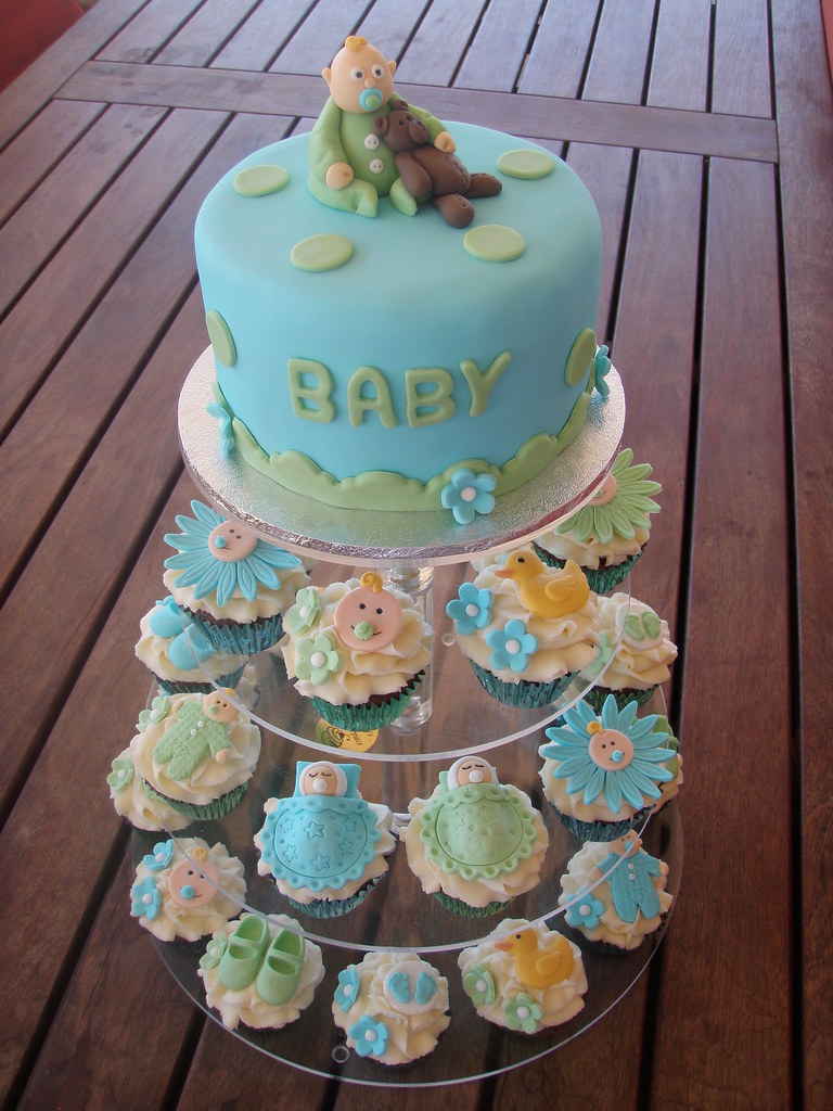 Cake Toppers For Boys Baby Showers