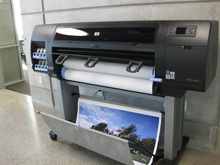 Our new poster printer | by niczak