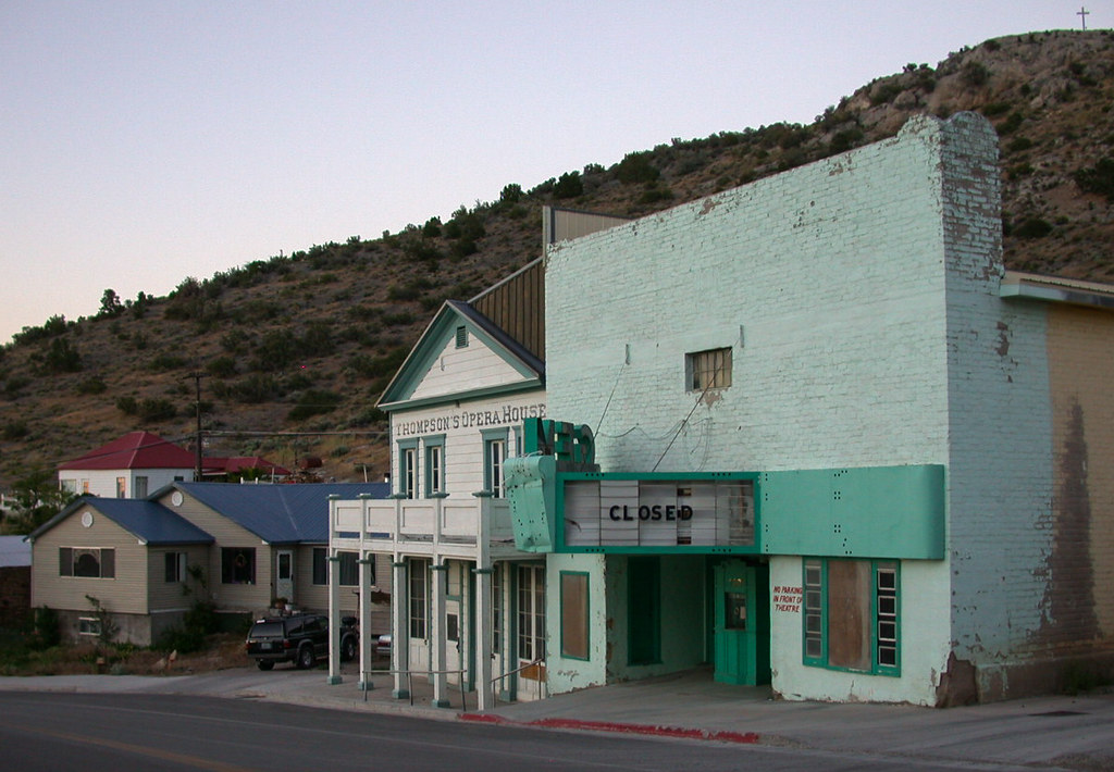 Gem Theater Pioche Nv A The First Time I Visited Pioc Flickr