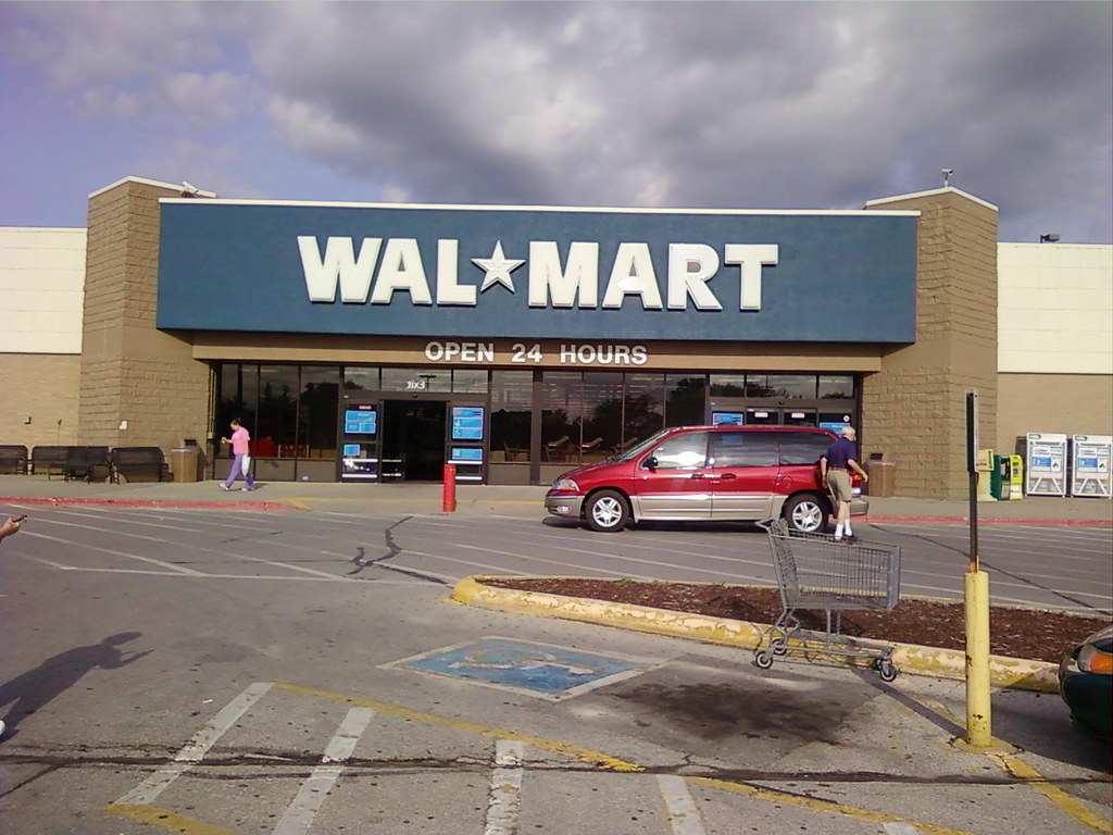 Wal Mart North Grand Ames Iowa Exterior In This