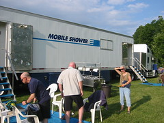 Great Mobile Shower Truck