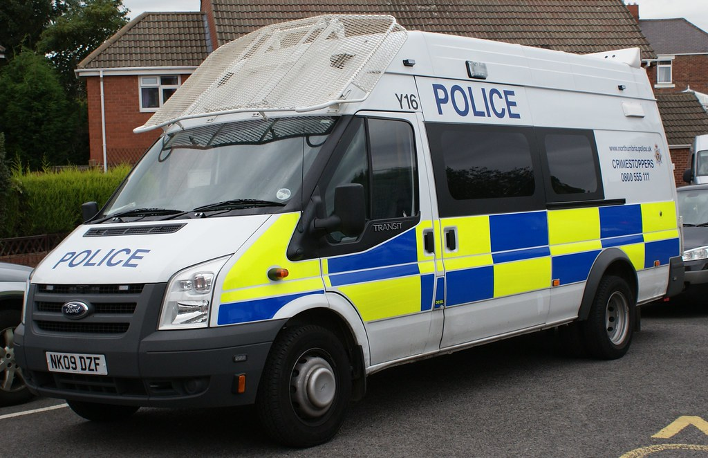 Cop Cars For Sale >> NORTHUMBRIA POLICE FORD TRANSIT RIOT VAN 09 | If any one wan… | Flickr