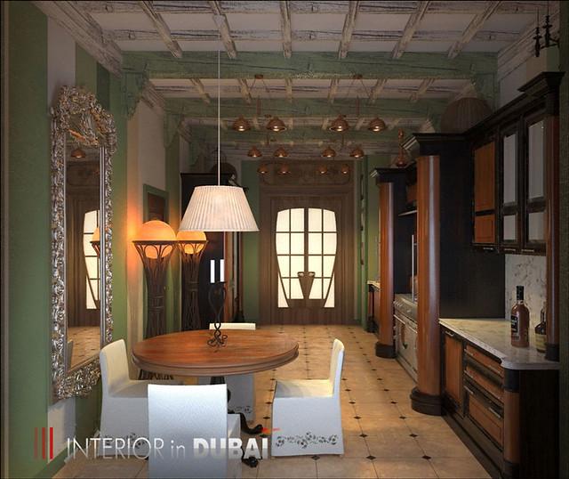 Kitchen Design Rendering: Interior Design The Kitchen Was Made In 3D