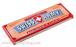 Swiss Army Energy Bar Chocolate - Milk Chocolate with corn flakes & guarana | by cybele-
