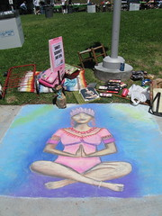 Commons-Inspired chalk art