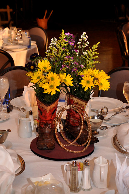 Boot Centerpiece Flickr Photo Sharing