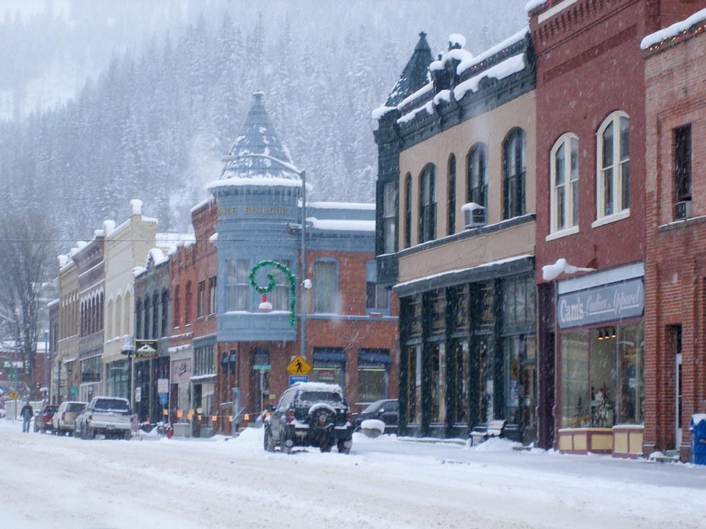 Wallace, Idaho - Main drag | Amanda E | Flickr