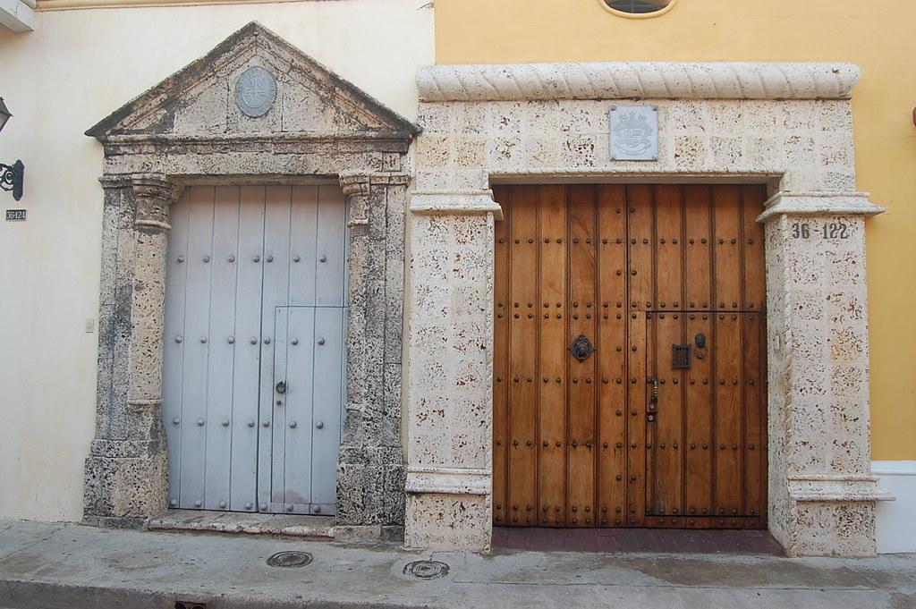 hermosas puertas coloniales jos antonio jim nez flickr