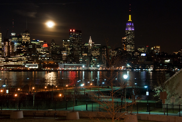 Hoboken Nj Nyc View From Elysian Park Flickr Photo