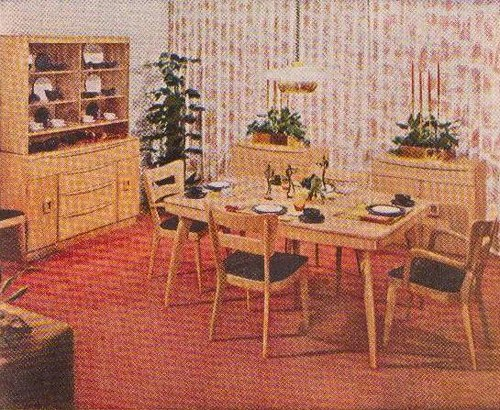 Heywood Wakefield Dining Room Quot Good Housekeeping