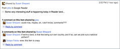Google Reader Share Commenting | by rustybrick