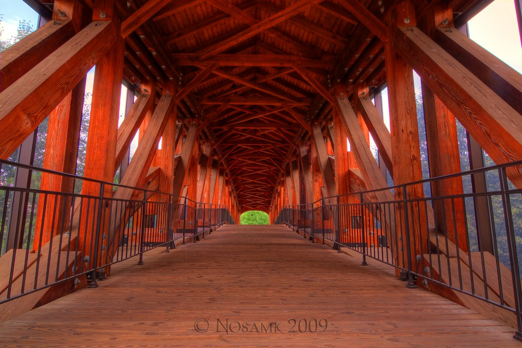 Covered Bridge To Old Salem Website Facebook Google Flickr