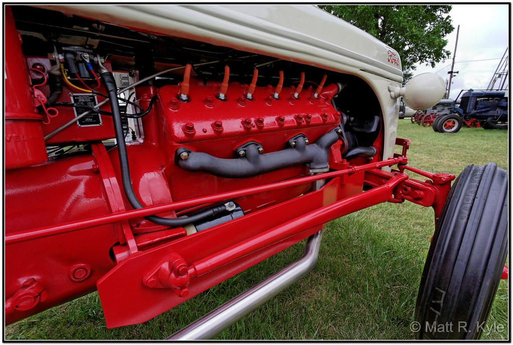 Ford 8n Tractor With A V12 Conversion Maumee Valley