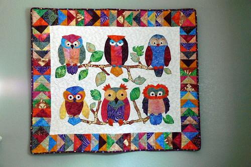 owl quilt Flickr - Photo Sharing!