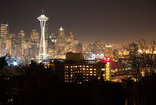 Seattle from Kerry Park at Night | by Erico M.