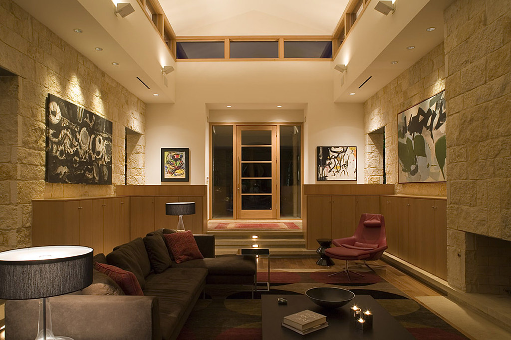Basin ledge house project designed by dick clark - Maison contemporaine dick clark architecture ...