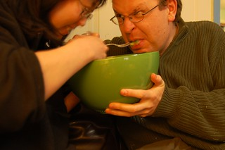 4523th reason not to share a salad bowl, no matter how big it is (53/365.2) | by sleepyneko