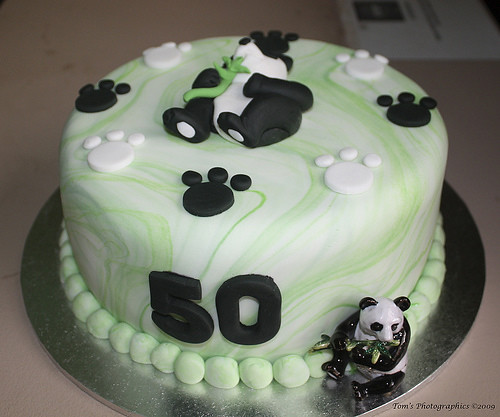 Cute Panda Birthday Cake th birthday Cute Panda