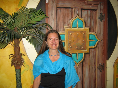 Christine with matching door | by Heart of Texas Peace Corps | www.hotpca.org
