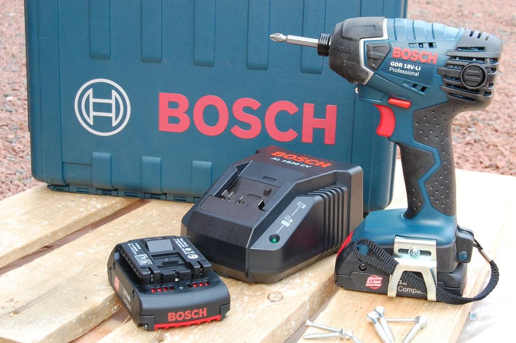 bosch gdr 18v li professional power impact driver mark hunter flickr. Black Bedroom Furniture Sets. Home Design Ideas