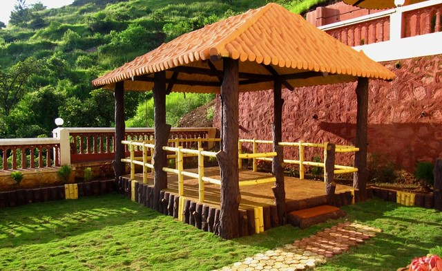 Elegant ... A Small Hut In The Garden Panchgani Site Amit For Small Garden Huts ...