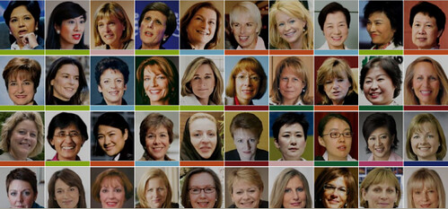 Ft 50 top women in wolrd business captured with snagit elana