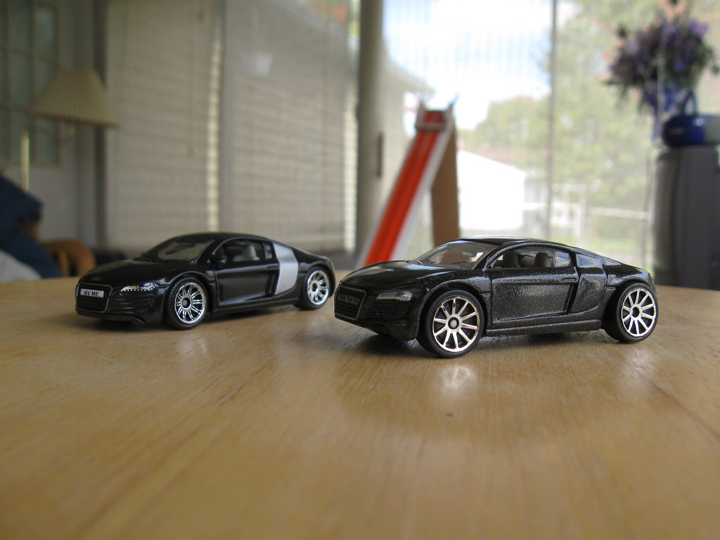Audi R8 Left Matchbox Right Hot Wheels Read More At
