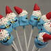 Group of Travel Gnome Cake Pops!