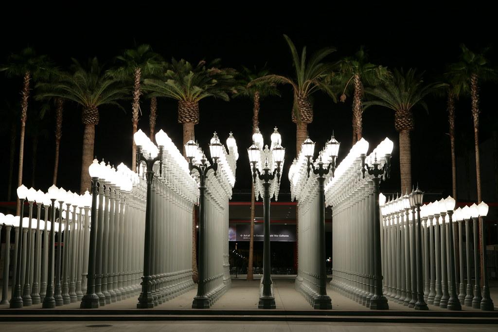 """Chris Burden's """"Urban Light""""   """"Urban Light,"""" a sculpture ...   1024 x 683 jpeg 246kB"""