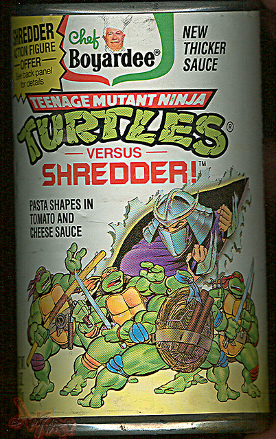 chef boyardee  u0026quot teenage mutant ninja turtles versus shredde