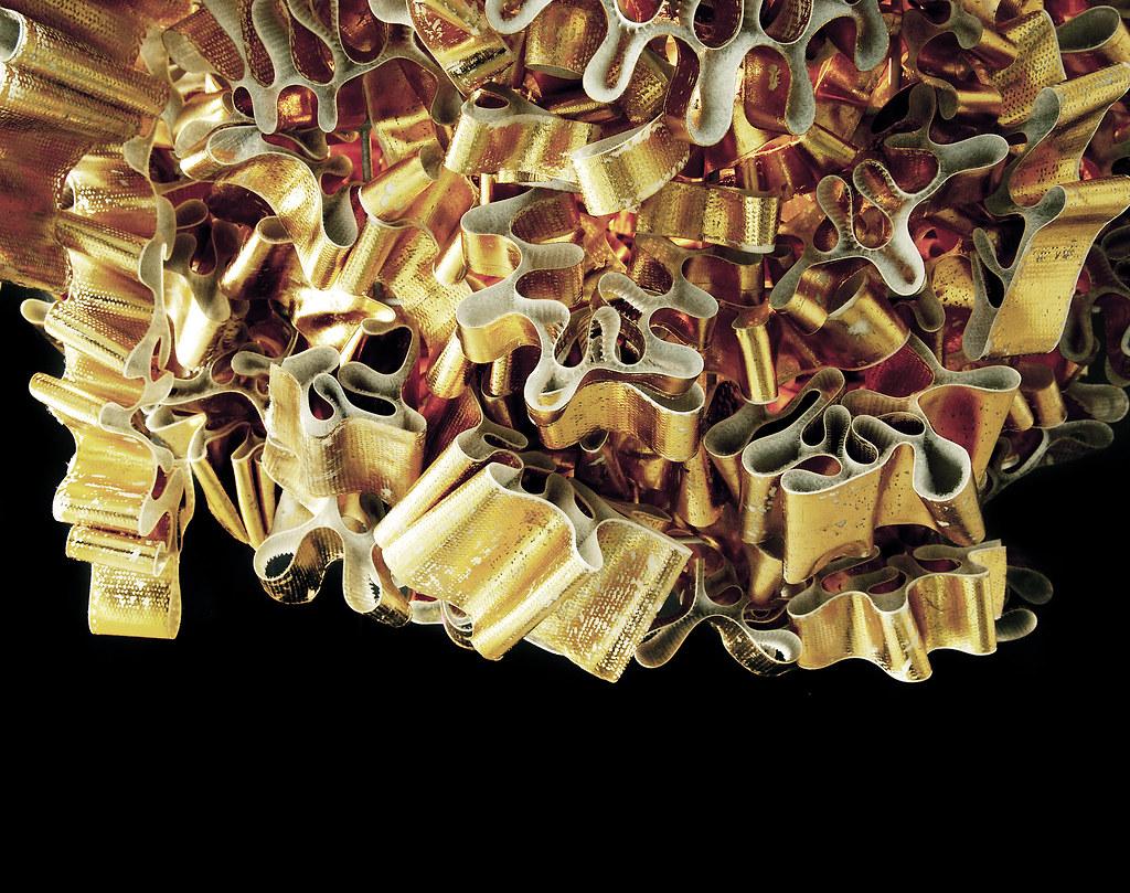 Midas 2 Materials Velcro Gold Foil Aluminium Frame