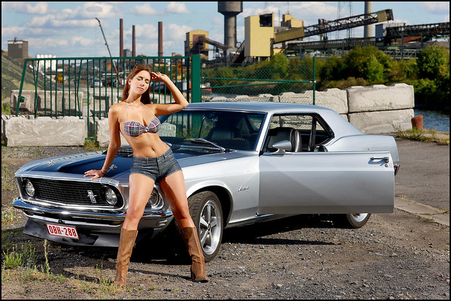 The Beauty And The Beast 1 Mustang 1969 Coupe Photo