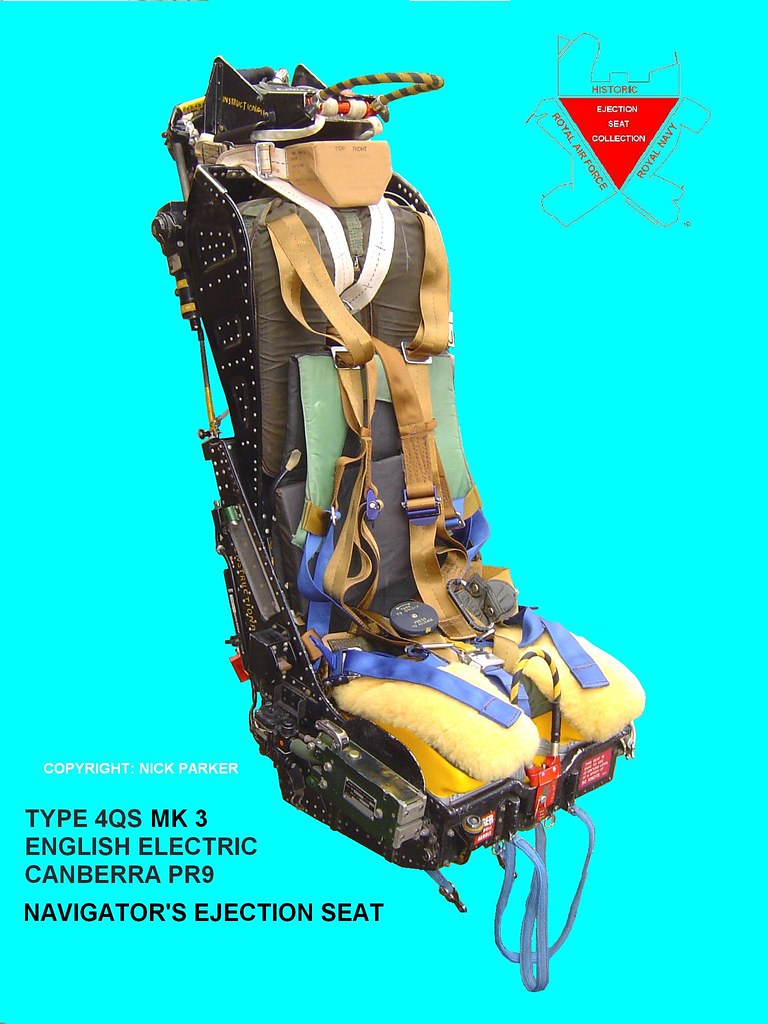 Type 4qs Mk 3 Ejection Seat This Is A Second View Of The
