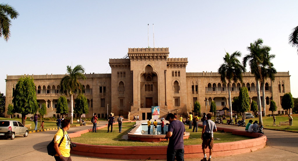 Osmania University Arts College Front | Flickr - Photo Sharing!