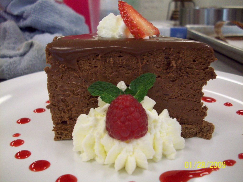 Chocolate truffle mousse
