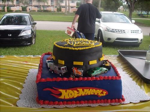 Walmart Race Car Cakes