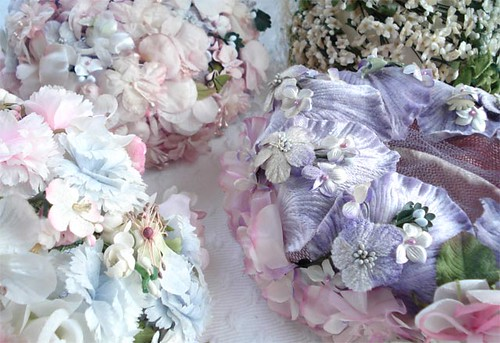 Vintage Floral Millinery Hats | by such pretty things