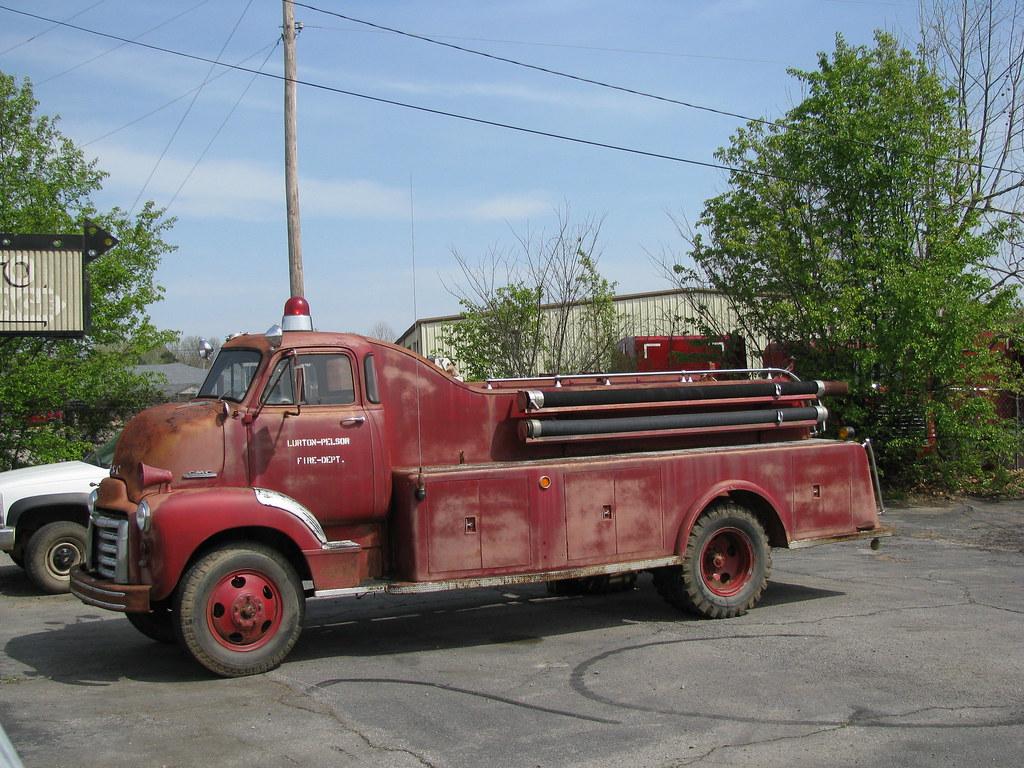 Gmc Firetruck I Just Love This Old Truck Van Buren Ar