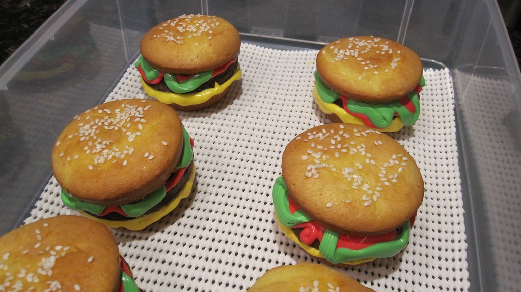 melty cheese on the hamburger muffins | Adam Spencer | Flickr