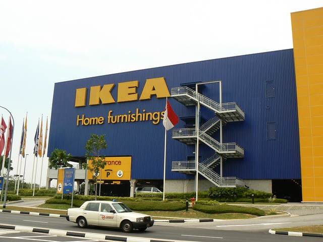 report on ikea singapore I bought furniture from ikea on saturday and scheduled a delivery for monday night between 5pm and 9pm the driver called on monday to say he could not get here.