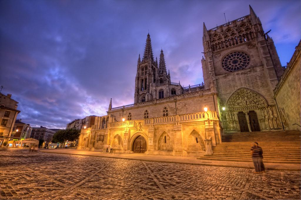 Burgos cathedral catedral de burgos hdr 4 hdr from for Oficina de turismo burgos