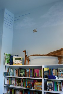 Children's Section Mural at Watchung Booksellers | by johnleesandiego