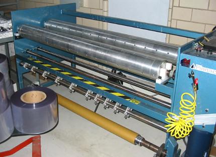 Vinyl Roll Slitter Cutter Large Machine That My Lift
