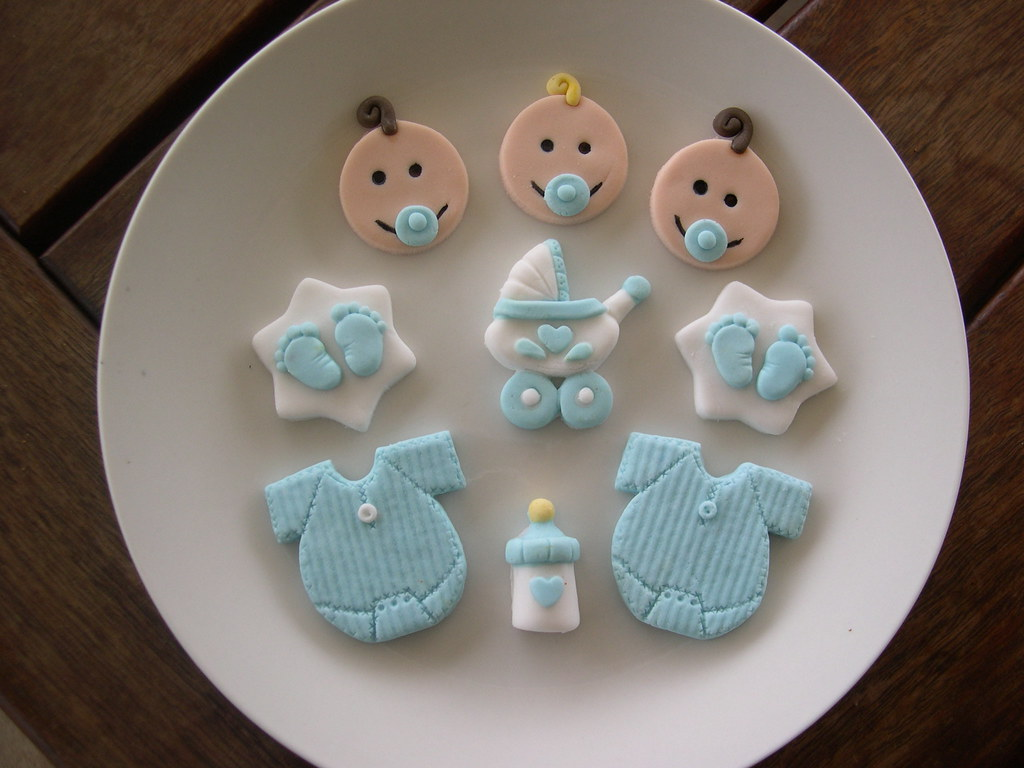 Baby Cake Toppers