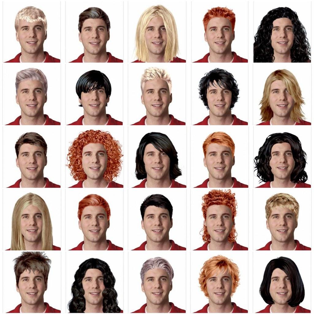 Virtual Hair Makeover: 1. Real Slim Shady Cut, 2